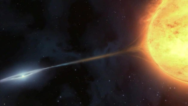 Künstlerische Darstellung einer Supernova vom Typ Ia (Illu.). Copyright: ESO/M. Kornmesser