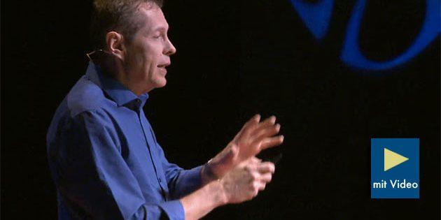 Prof. Alexander Wendt bei seinem TEDx-Vortrag in Columbus. Quelle: TEDx Talks (Youtube)