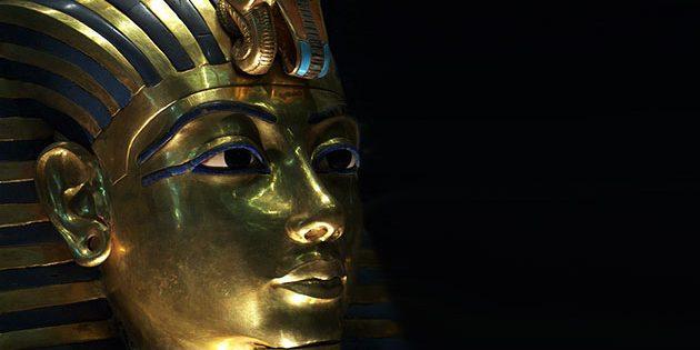 Die Totenmaske des Tutanchamun. Copyright/Quelle: Aikon (via WikimediaCommons) / CC BY-SA 3.0