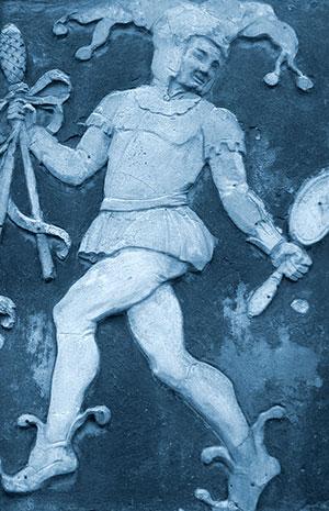 Der Trickster begegnet uns auch in der Figur des Till Eulenspiegels. Copyright: Ewald Judt (via WikimediaCommons) / CC BY-SA 4.0