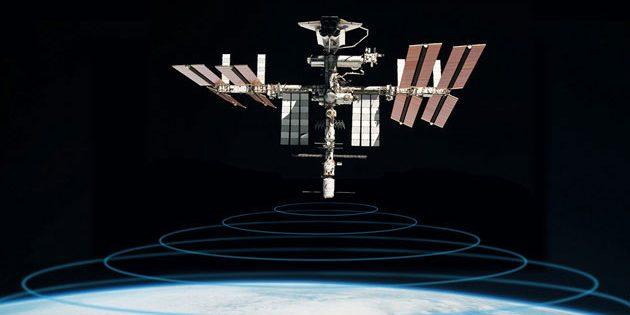 Tiere beobachten aus dem All: Die Antenne des Icarus-Systems wurde erfolgreich zur ISS transportiert (Illu.). Copyright: DLR/MPG