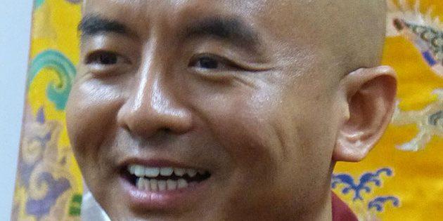 Der tibetisch-buddhistische Mönch Yongey Mingyur Rinpoche. Copyright/Quelle: Gazebo (via WikimediaCommons), CC BY-SA 3.0
