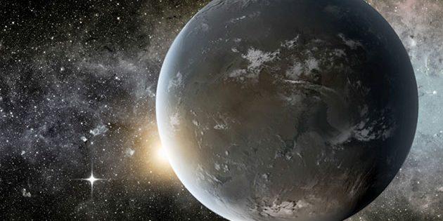 Künstlerische Darstellung eines präbiotischen erdähnlichen Exoplaneten (Illu.) Copyright: NASA Ames/JPL-Caltech