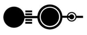 """Laut Credo Mutwa werden Formationen, die wir als """"Pendel"""" kennen, und die zu Beginn der 1990er in besonders vielen Variationen in England gefunden wurden, (das hier abgebildete Beispiel zeigt eine solche Formation bei Crawley Down in Hampshire vom 13.07.1990.) auch und gerade in den Erdnussfeldern im südafrikanischen Transvaal gefunden. Copyright: A. Müller"""