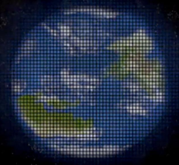 Simulation der Ansicht eines fernen Exoplaneten, wie sie mit der Multipexel-Darstellung eines die Sonne als Gravitationslinse nutzende Weltraumteleskops einst möglich sein könnte. Copyright: NASA JPL/Slava Turyshev