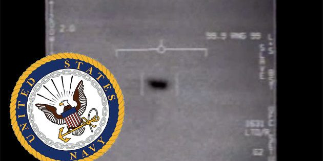 Standbild aus dem UFO-Video zum Nimitz-Vorfall. Copyright: Public Domain, US Department of Defense