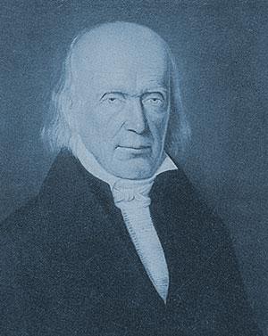 Pfarrer (sowie Saarbrücker OB) Johann Friedrich Köllner, 1764–1853 Quelle: Stadtarchiv Saarbrücken