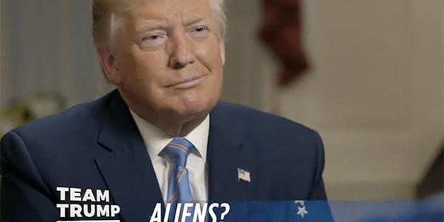 Standbild aus dem Interview. Copyright: donaldjtrump.com