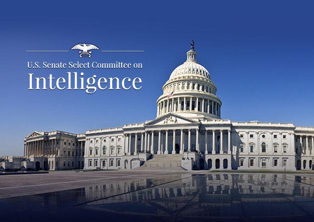 Symbolbild: Das Kapitol in Washington mit dem Signet des United States Senate Select Committee on Intelligence. Copyright: senate.gov