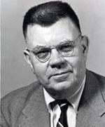 Edward Condon, Vorsitzender des Condon-Komitees an der University of Colorado.