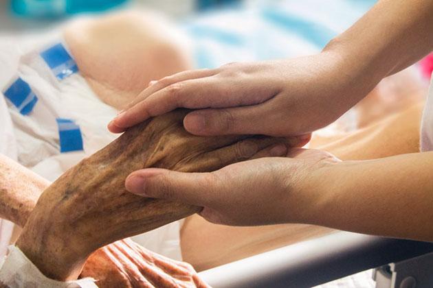 Symbolbild: Palliative Pflege Copyright/Quelle: University of British Columbia