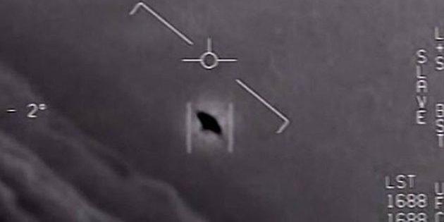 Symbolbild: Standbild aus einer Videoaufzeichnungen eines Navy-Kampfjets. Copyright: US Pentagon / Navy