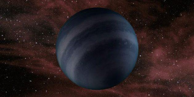 Das Konzept eines Künstlers eines Dunkelbraunen Zwergs, der den in Zukunft vorhergesagten Schwarzen Zwergen ähneln könnte. Copyright: NASA / JPL-Caltech