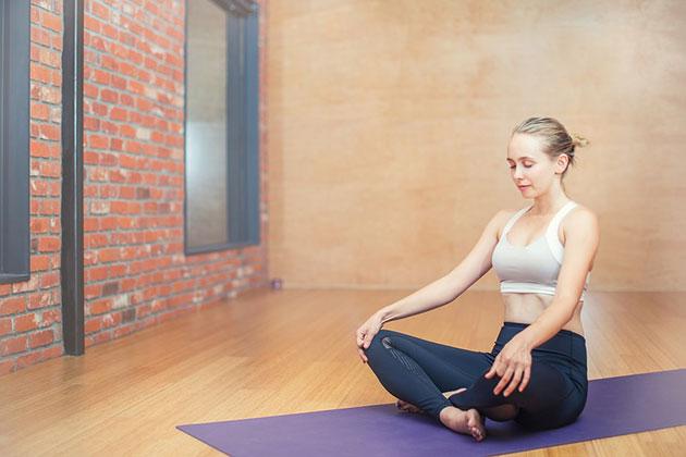 Symbolbild: Yoga. Copyright: logarstudio (via Pixabay.com) / Pixabay License