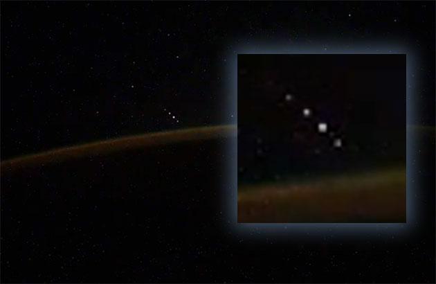 Standbild aus dem ursprünglichen Video des Kosmonauten Ivan Vagner. Copyright: I.Vagner /ROSCOSMOS