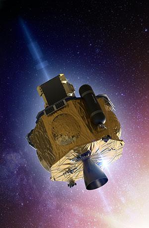"""Künstlerische Darstellung der Satellitensonde """"Photon"""" (Illu.). Copyright: Rocket Lab"""