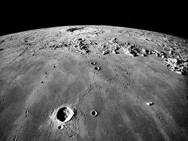 Symbolbild: Blick von Apollo 17 auf das Mare Imbrium. Copyright: NASA