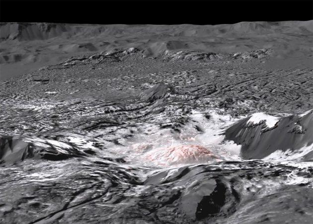 Standbild aus der Videoanimation. Copyright/Quelle: NASA/JPL-Caltech/UCLA/MPS/DLR/IDA/WWU