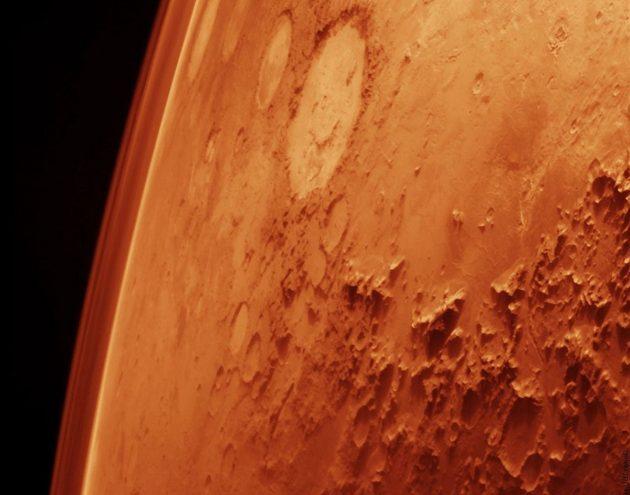 Symbolbild: Blick auf den Mars. Copyright: NASA