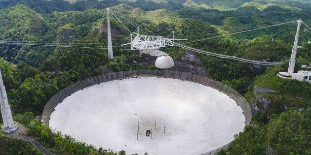 Das Radioteleskop von Arecibo. Copyright: ucf.edu