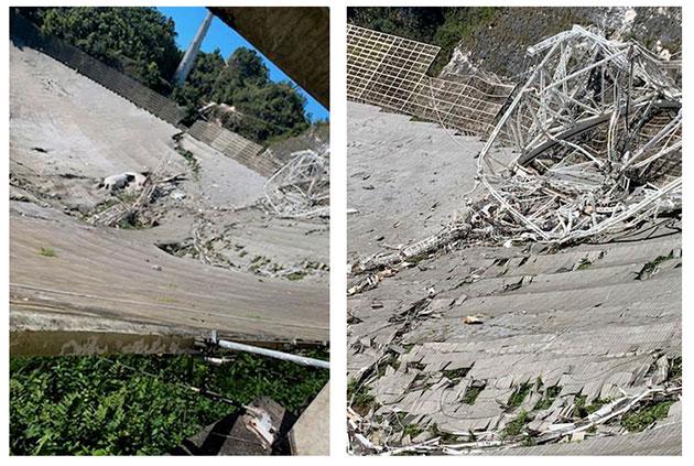 Detailansichten der Schäden. Quelle: NSF/UCF