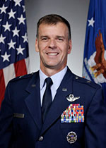 Brig Gen Bruce McClintock. CopyrighT/Quelle: U.S. Air Force