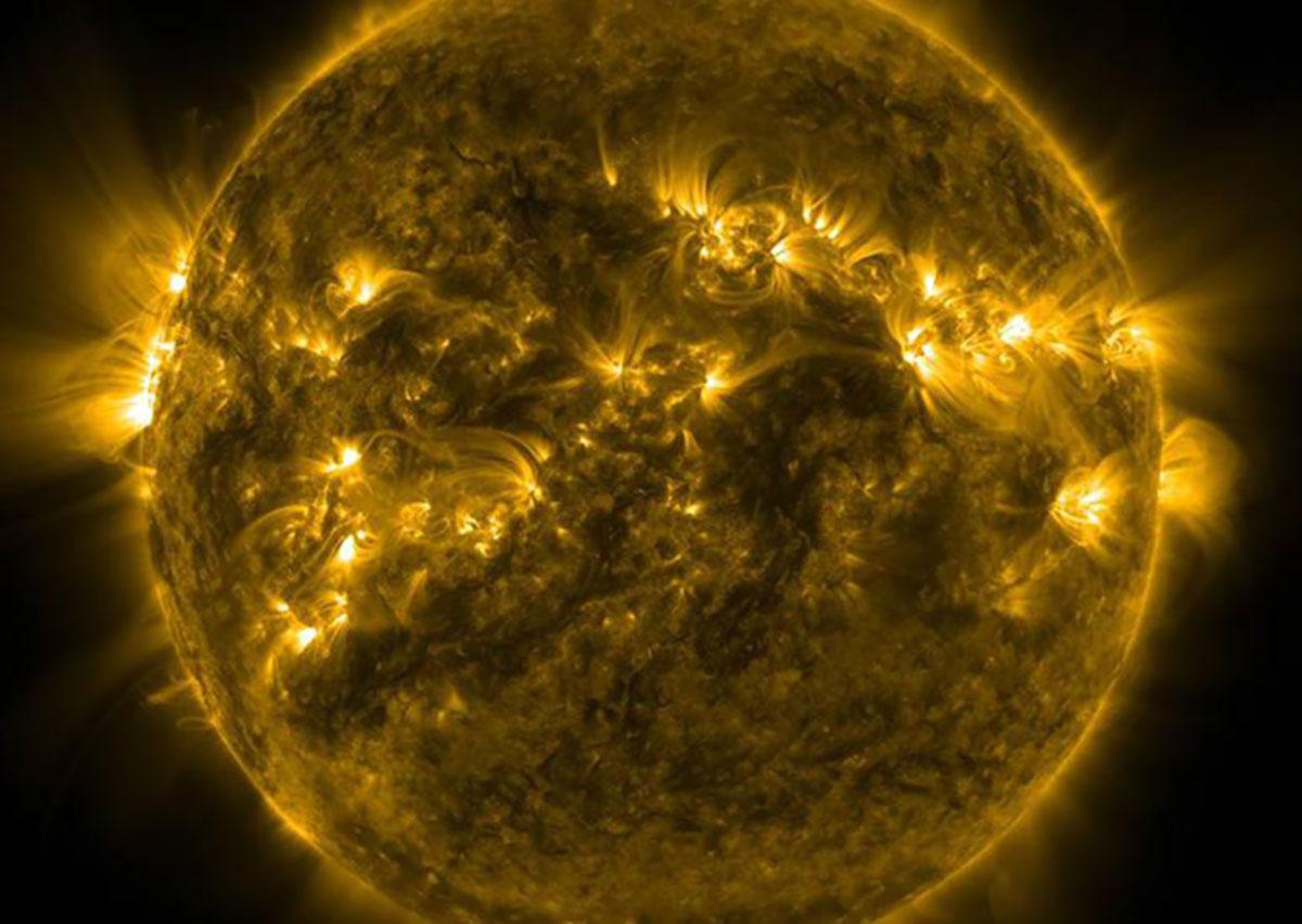 Symbolbild: Aktive Sonne Copyright: NASA