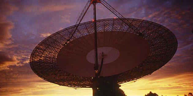Das Parkes-Teleskop Copyright: Parkes Telcope