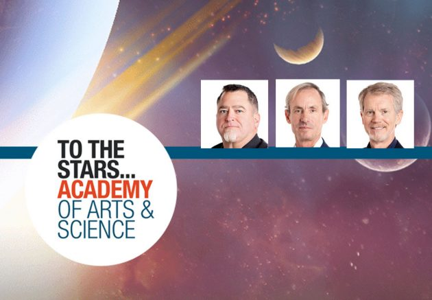 Die Gründungsmitglieder Luis Elizondo (l.), Chris Mellon (m.) und Steve Justice (r.). Bildquelle: tothestarsacademy.com