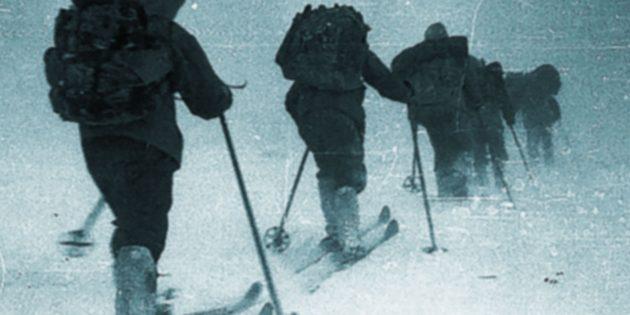 Eines der letzten Bilder der Djatlow-Expedition im Februar 1959. Quelle: Djatlow-Gedächtnisstiftung