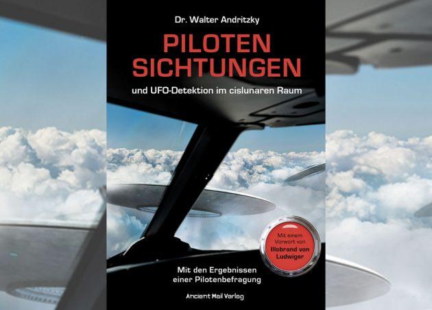 """Titelabbildung: """"Piloten Sichtungen und UFO-Detektion im cislunaren Raum"""" Copyright/Quelle: Ancient Mail Verlag"""