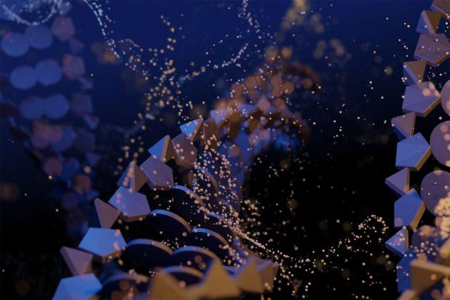 Symbolbild: Langkettige Moleküle (Illu.). Copyright: LMU
