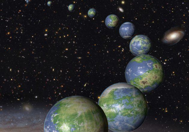Künstlerische Darstellung erdähnlicher Planeten (Illu.). Copyright: NASA, ESA and G. Bacon (STScI)