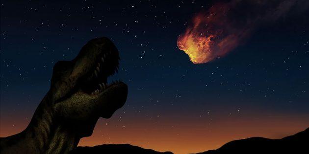 """Künstlerische Darstellung des Einschlags des """"Dino-Killers"""" (Illu.). Copyright/Quelle: geralt (via Pixabay.com) / Pixabay.com"""
