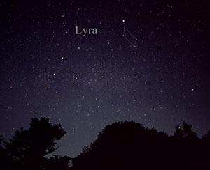 Vega als hellster Stern der Leier am Nachthimmel. Copyright: Till Credner (via WikimediaCommon) / CC BY-SA 3.0