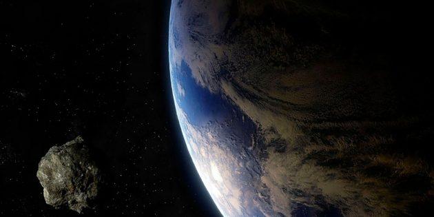 Künstlerische Darstellung eines erdnahen Asteroiden (Illu.). Copyright: urikyo33 (via Pixabay.com) / Pixabay License