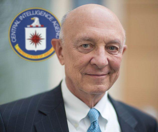 Der ehemalige CIA-Direktor James Woolsey (2015) Copyright: Christopher Michel (via WikimediaCommons) / CC BY 2.0 (Porträt), Bearb.: grewi.de