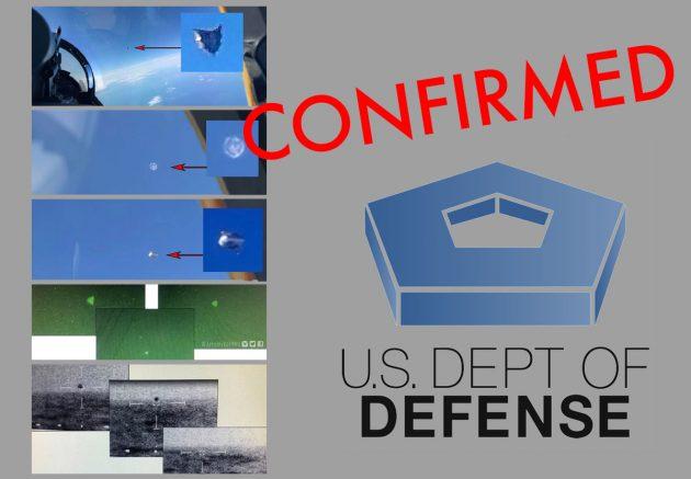 Symbolbild: Pentagon bestätigt weitere UFO-Fotos und -Videos Copyright/Quellen: US Pentagon