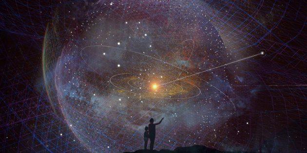 """Symbolbild zur angedachten Mission der """"Interstellar Probe"""", die unser Sonnensystem sozusagen aus der Ferne erforschen soll (Illu.). Copyright: Johns Hopkins APL"""