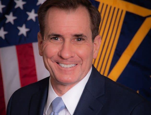 Pentagon-Sprecher James F. Kirby. Copyright: defense.gov