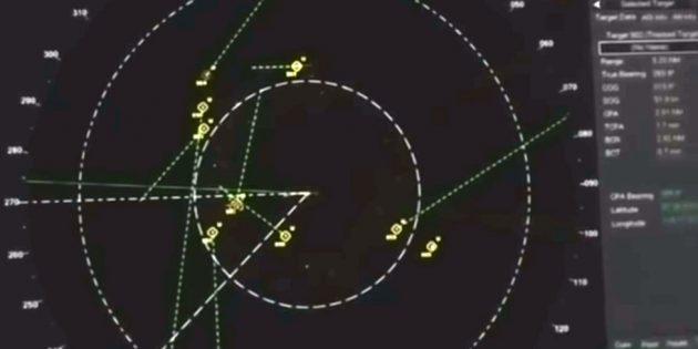 Standbild aus dem Video. Copyright/Quelle: US Navy / J. Corbell, extraordinarybeliefs.com
