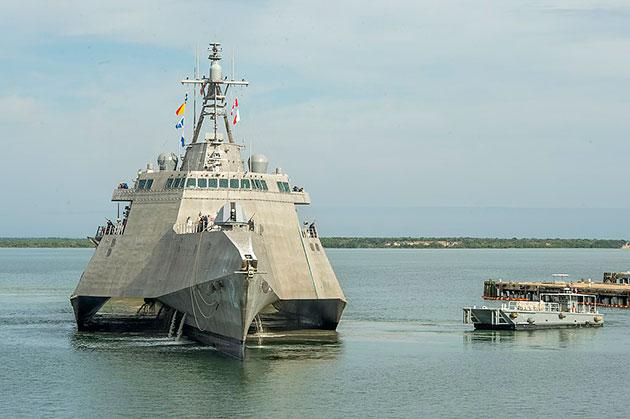Die USS Omaha. Copyright: US Navy / Public Domain