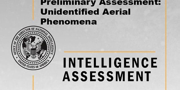 """Titel des vorläufigen """"UFO-Berichts"""" des Direktors der US-Geheimdienste. Copyright/Quelle: dni.gov"""