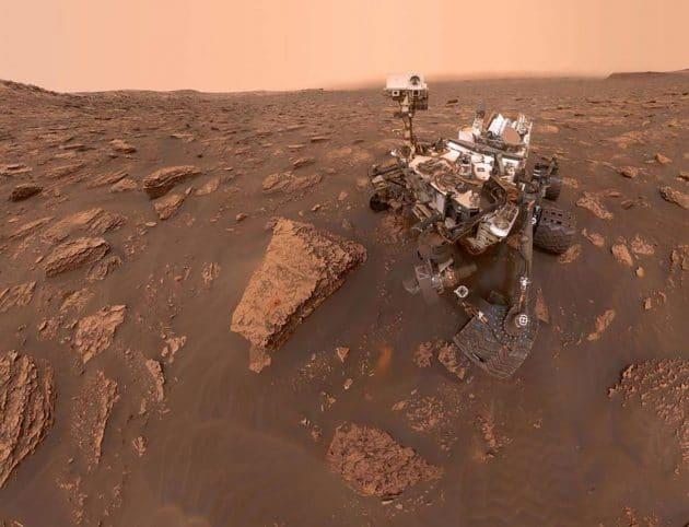"Symbolbild: Selfie des Mars-Rovers ""Curiosity"". Copyright: NASA/JPL-Caltech/MSSS"