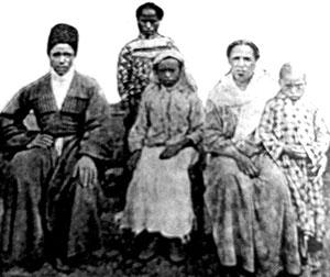 Historische Aufnahme abchasischer Afrikaner, 1914 Livejournal.com / Public Domain