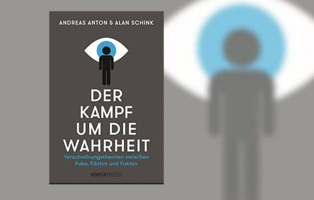 """Titel von """"Der Kampf um die Wahrheit"""" von Andras Anton und Alan Schink. Copyright: komplett-media.de"""