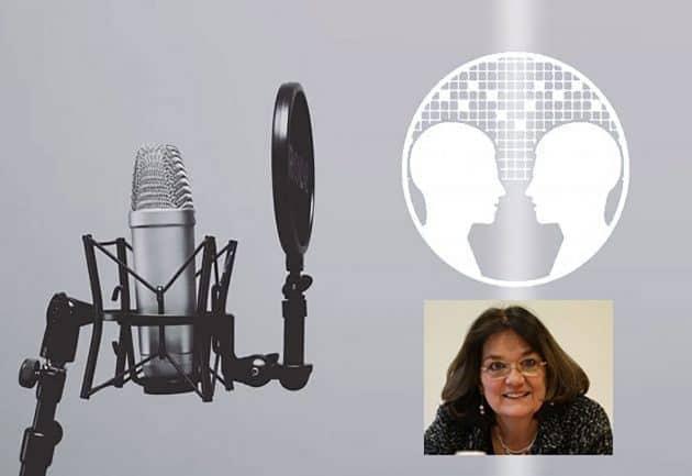 Die Nachtod-Kontakt-Forscherin Evelyn Elsaesser im Anomalistik-Podcast. Copyright/Quelle: grewi.de / anomalistik.de