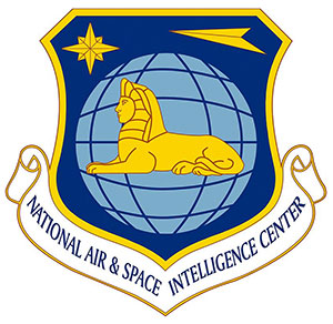 """Das Signet des """"National Air and Space Intelligence Center"""" der US Air Force. Copyright: US Air Force"""