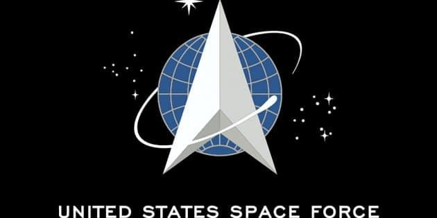 Die Flagge der 2018 gegründeten United States Space Force Copyright: Gemeinfrei