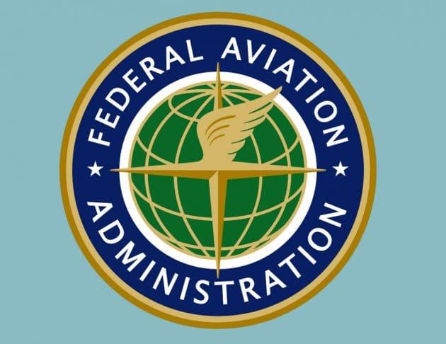 """Das Signet der Federal Aviation Administration"""" (FAA). Copyright: Federal Aviation Administration, US-Gov."""